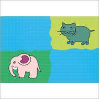 Cartoon Designer Table Mat