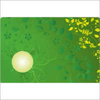 Designer Floral Table Mat