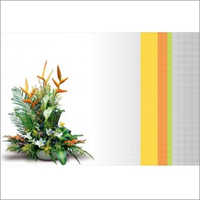 Floral Customized Table Mat
