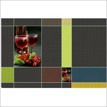 Fruit & Vegetable Designs Kitchen Table Mat