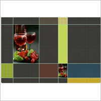 Fruit & Vegetable Designs Kitchen Table Mat