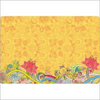 Paper Table Mats Floral