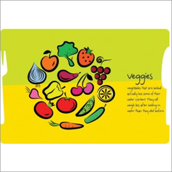 Paper Table Mats - Veggies Green Yellow Pack of 1000