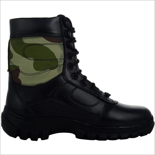 Camouflage High Ankle Army Shoes