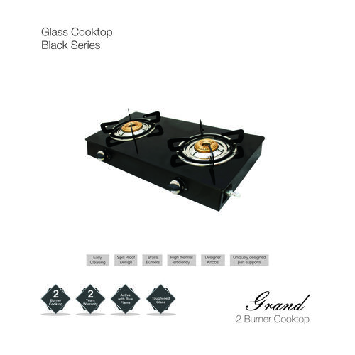 Glass LPG Gas Stove