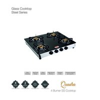 4 Burner Toughened Glass Stove