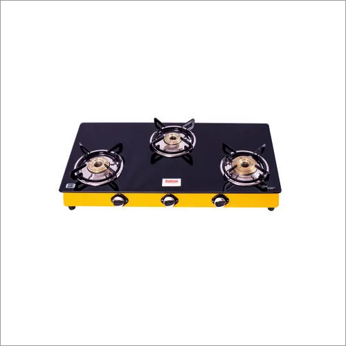 3 Burner Glass Stove