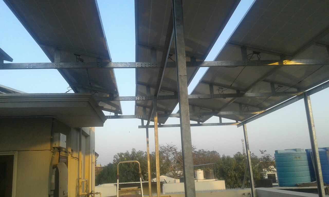 Solar On Grid Power Plant