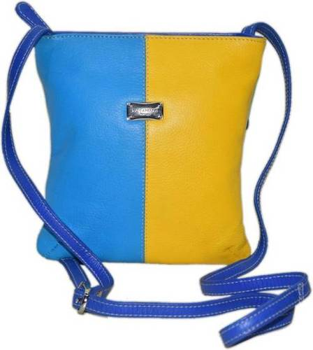 Multi Color Leather Crossbody Bag