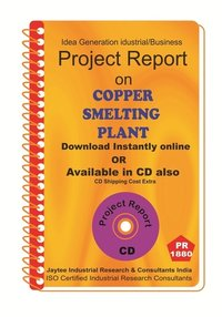 Copper Smelting Plant II manufacturing Project Report eBook