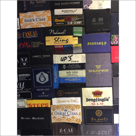Customised Woven Labels