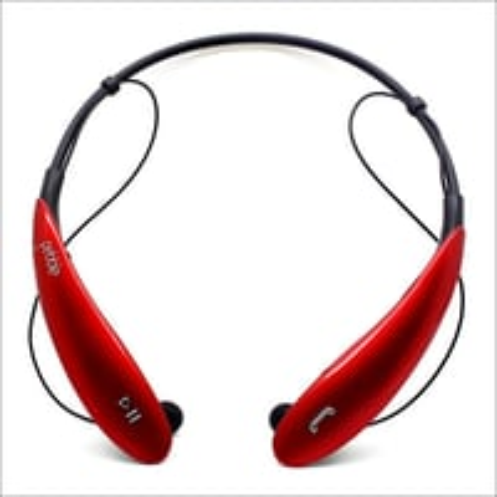 Neck Band Sleek Stereo Wireless Bluetooth Headphones