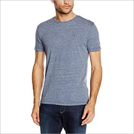 Mens Grey Milange T-Shirt