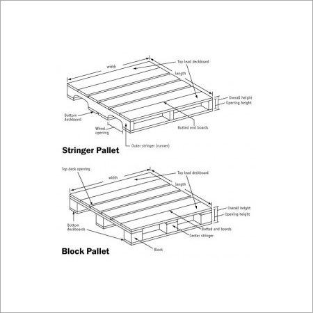 Stringer Wooden Pallets