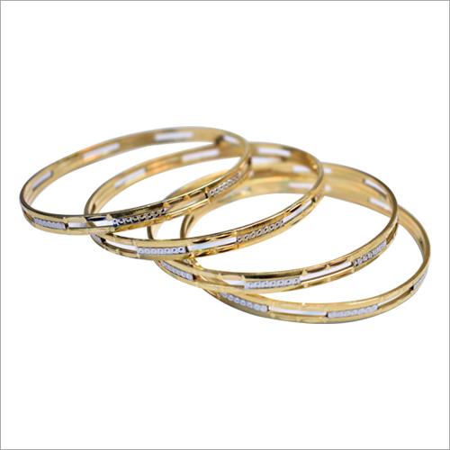 Ladies Designer Gold Bangle