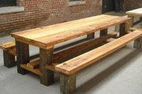 Restaurant Wooden Table