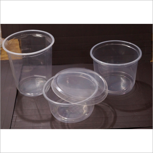 Clear Plastic Cylindrical Containers