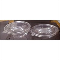 Round Plastic Packaging Container