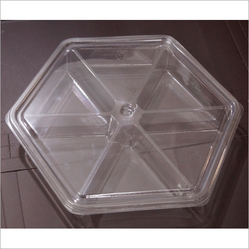Dry Fruit Packaging Plastic Container