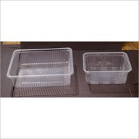 Clear Rectangular Plastic Containers