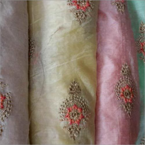 Embroidered Net Fabrics
