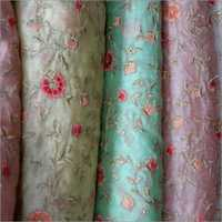 Embroidery Soft Net Fabrics