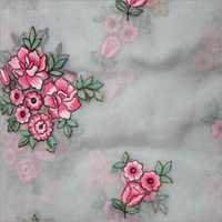 Net Embroidered Fabrics