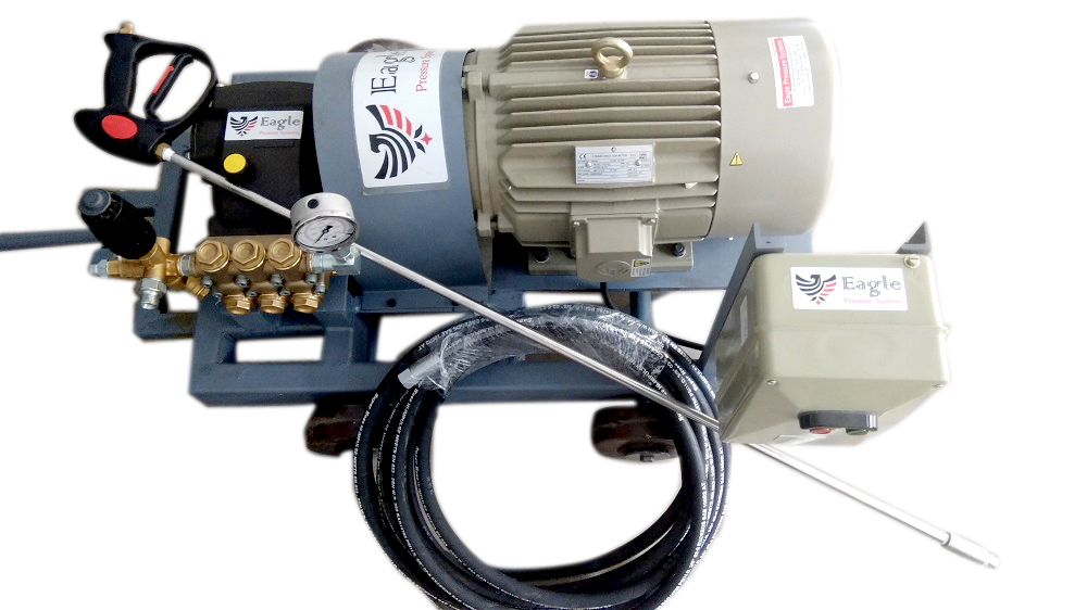 High Pressure Water Jet Cleaning Pump System