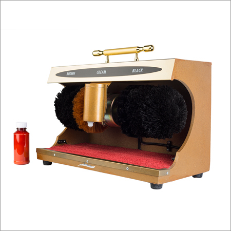 Electrical with Sensor Shoe Polish Machine