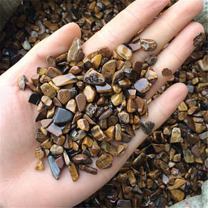 Tiger Eye Gemstones Chips