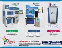 Synthetic Diamond Detector Machine