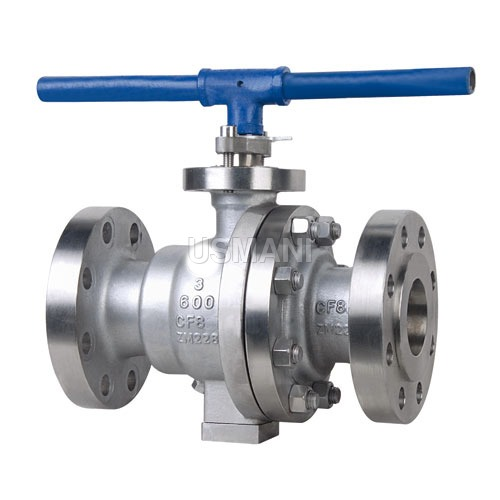 Ball valves two piece