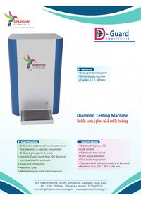 CVD Diamond Detector Machine