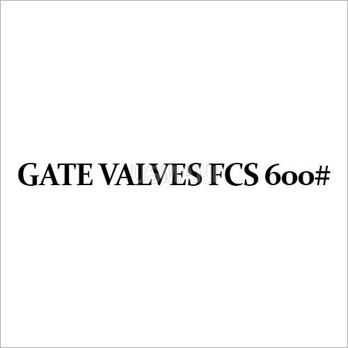 Gate Valves FCS 600