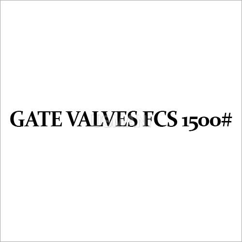 Gate Valves FCS 1500