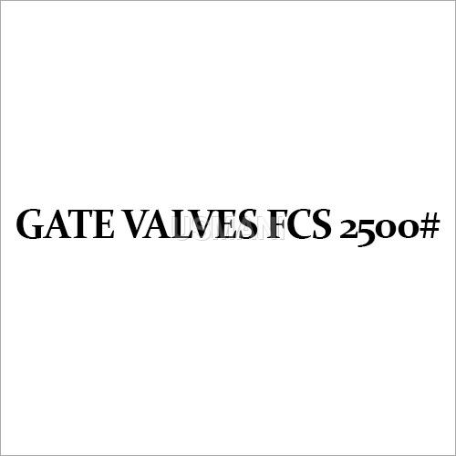 Gate Valves FCS 2500