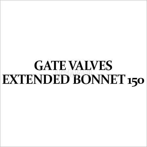 Gate Valves Extended Bonnet 150