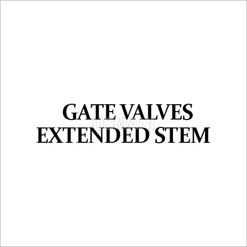 Gate valves Extended Stem