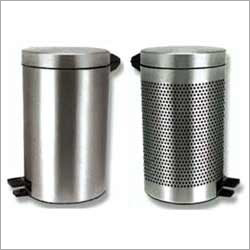 Foot Operated Stainless Steel Dustbin