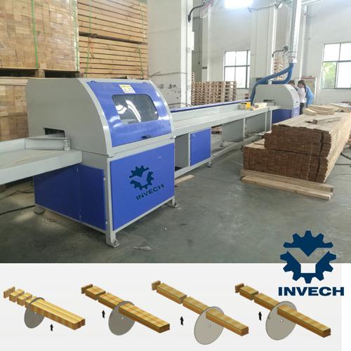 Automatic Timber Board Cutting Saw Machine