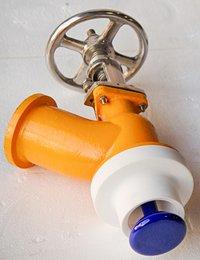 Glass Lined Flush Bottom Valve