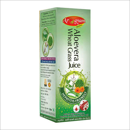 Aloe Vera Wheat Grass Juice