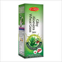 Giloy Aloe Vera Wheat Grass Juice