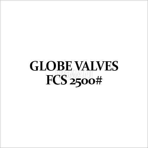 Globe Valves FCS 2500