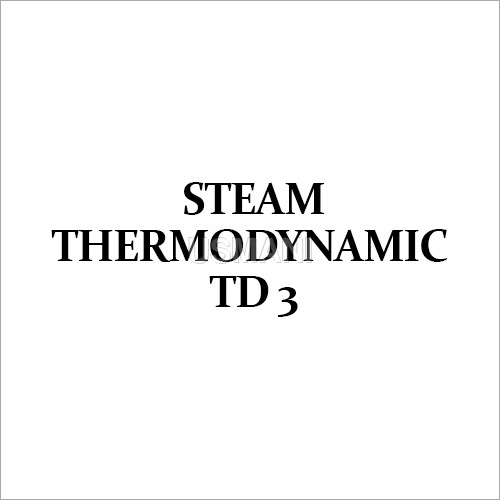 Steam Thermodynamic TD 3