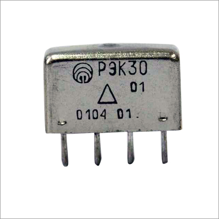 Two Changeover Electromagnetic Direct Current Relay