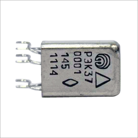 Two Changeover Electromagnetic Direct Current Relay With