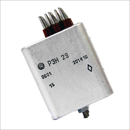 Non-hermetically Sealed Direct Current Electromagnetic Relay