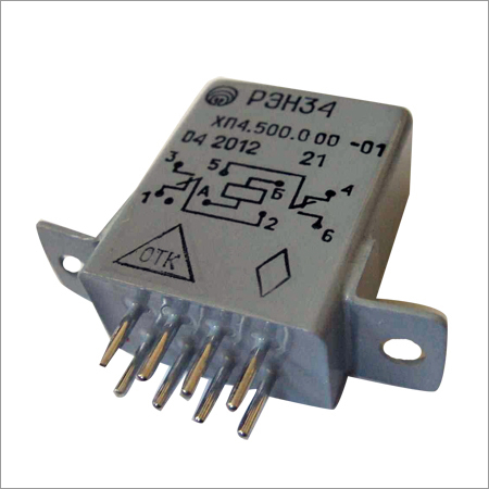 Hermetically Sealed Direct Current Electromagnetic Relay