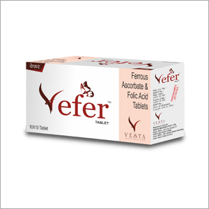Vefer亚铁抗坏血酸叶酸片剂